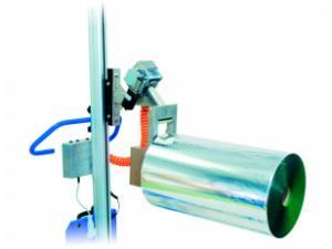 Retourneur de bobine pneumatique électrique