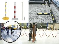 amenagement-securite-des-sites-circu-engins-publics-poteaux-barrieres-mirroirs